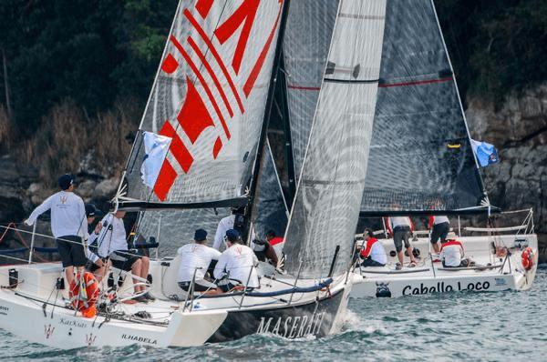 La clase C30 regresa a las regatas en Brasil.