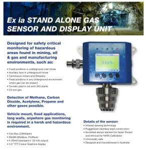Stand Alone Gas Sensor 2014-1