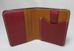 薄い二つ折り財布