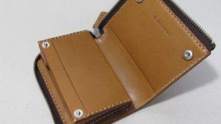 L字ファスナー二つ折り財布5