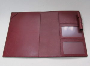 A5サイズ手帳カバー1