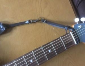 クイックリリースギターストラップ
