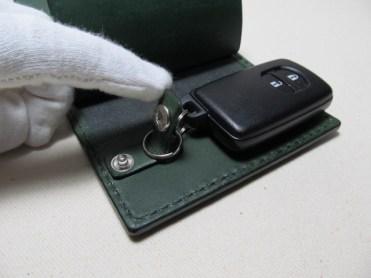 スマートキー収納3連キーケース