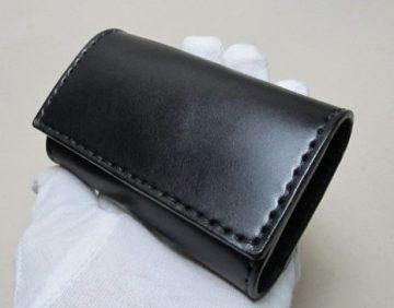 スマートキー収納3連キーケース黒