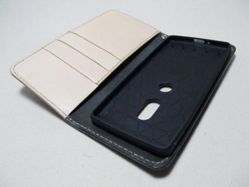 Xperia xz2手帳型横開きケース