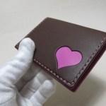 チョコxピンクのパスケース 1901182