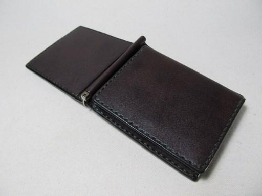 マネークリップ小銭入れ蓋にカード入れ 190508
