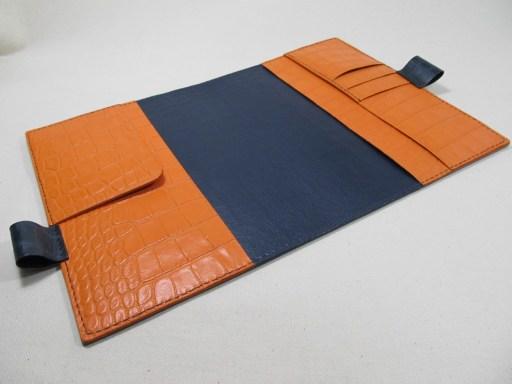 革の手帳カバーA5サイズ 190914