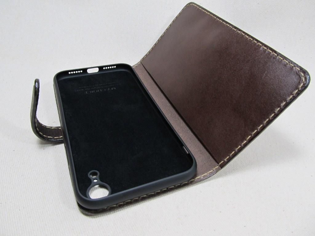 iPhoneXR手帳型横開きケース 191028