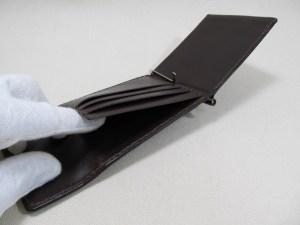 マネークリップ板バネフラップ付191003