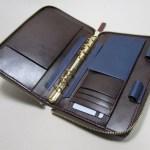 ラウンドファスナーシステム手帳バイブル200514