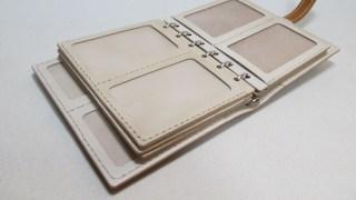 システム手帳ミニ6リング径15mm(資格証入れ)210803オーダーメイド