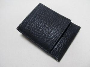 鮫革マネークリップボックスコイン210911オーダーメイド