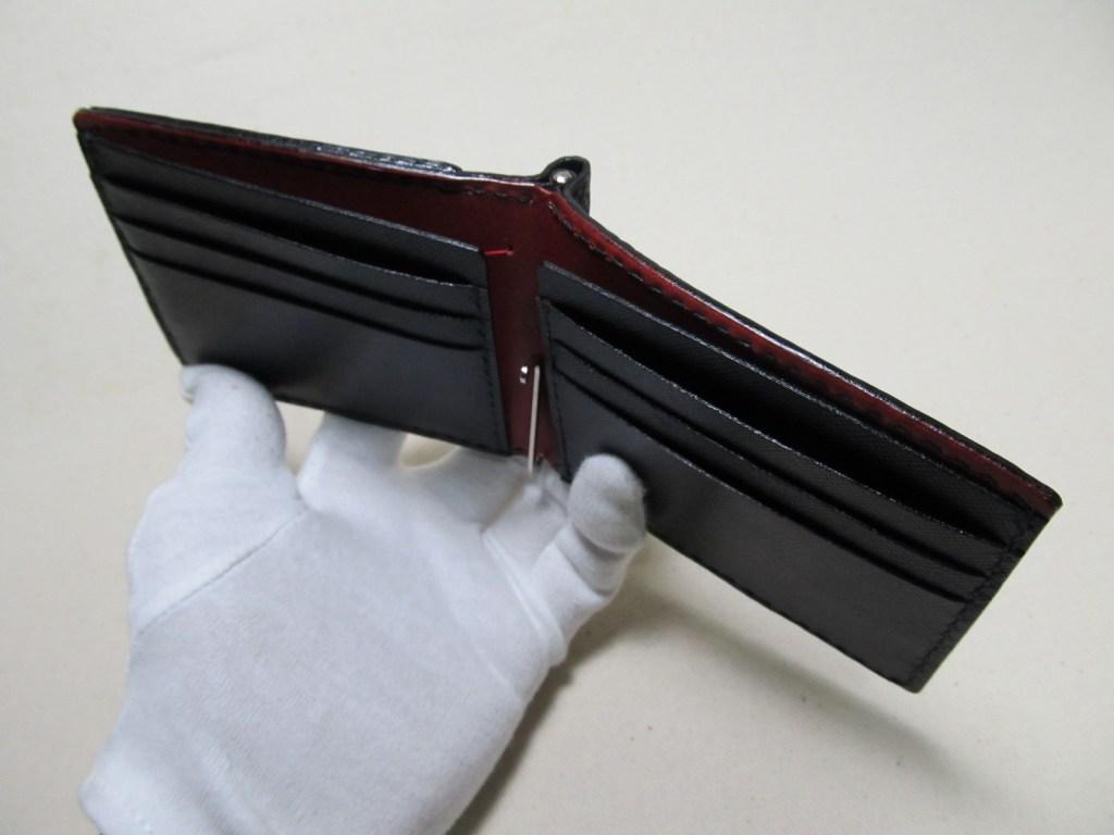 鮫革マネークリップボックスコイン210911