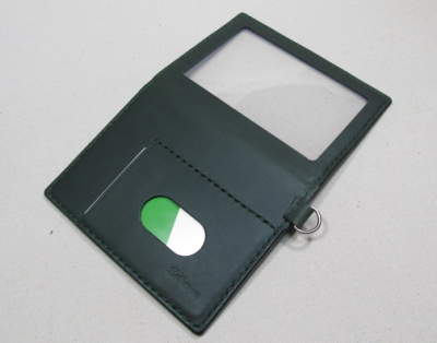障がい者手帳ケース 深緑