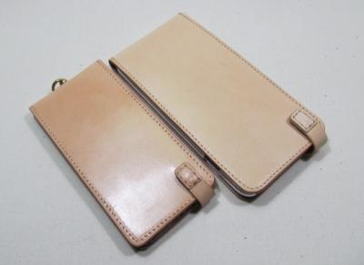 iphone6plusケースオーダーメイドヌメ革