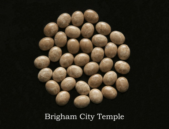 Temple stones from the LDS Brigham City Temple by Nauvoo Remembered jewelry