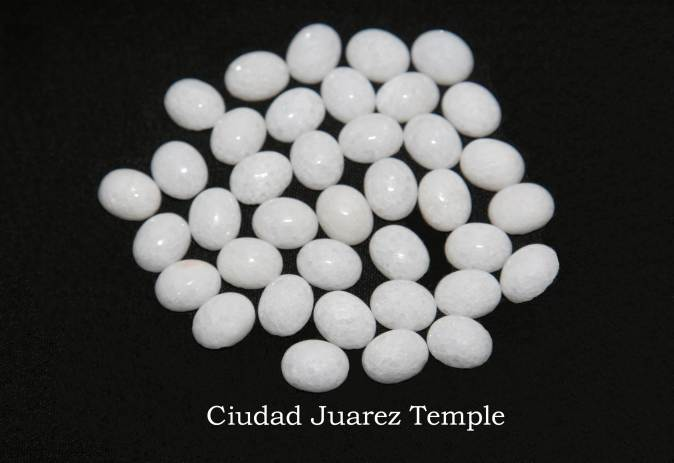 Temple stones from the LDS Ciudad Juarez Temple by Nauvoo Remembered jewelry