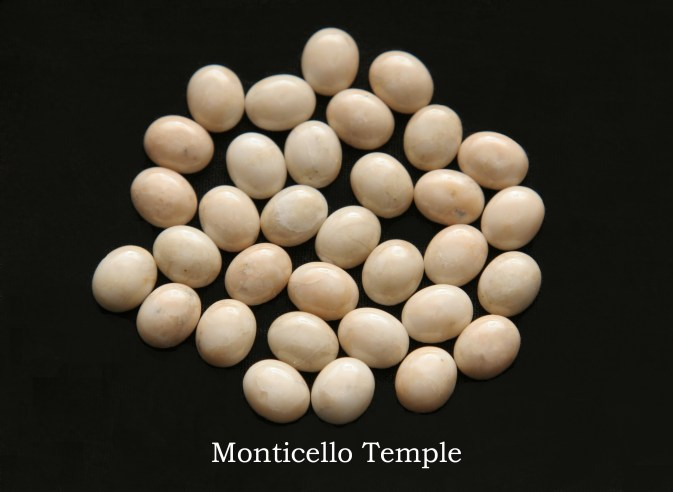 Temple stones from the LDS Monticello Temple by Nauvoo Remembered jewelry