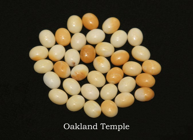 Temple stones from the LDS Oakland Temple by Nauvoo Remembered jewelry