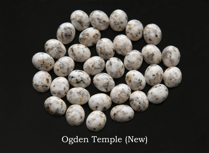 Temple stones from the new LDS Ogden Temple by Nauvoo Remembered jewelry