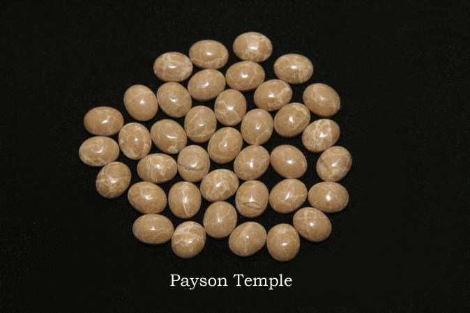Temple stones from the LDS Payson Temple by Nauvoo Remembered jewelry