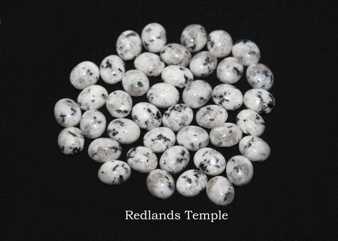 Temple stones from the LDS Redlands Temple by Nauvoo Remembered jewelry