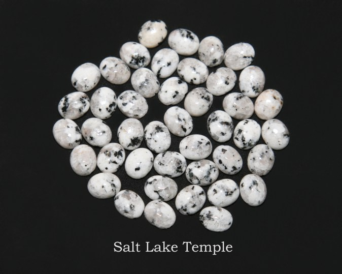 Temple stones from the LDS Salt Lake Temple by Nauvoo Remembered jewelry