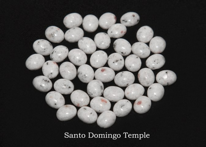 Temple stones from the LDS Santo Domingo Temple by Nauvoo Remembered jewelry