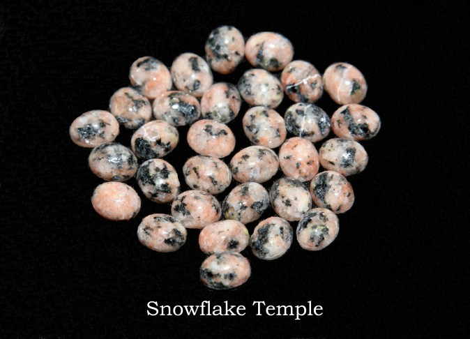 Temple stones from the LDS Snowflake Temple by Nauvoo Remembered jewelry