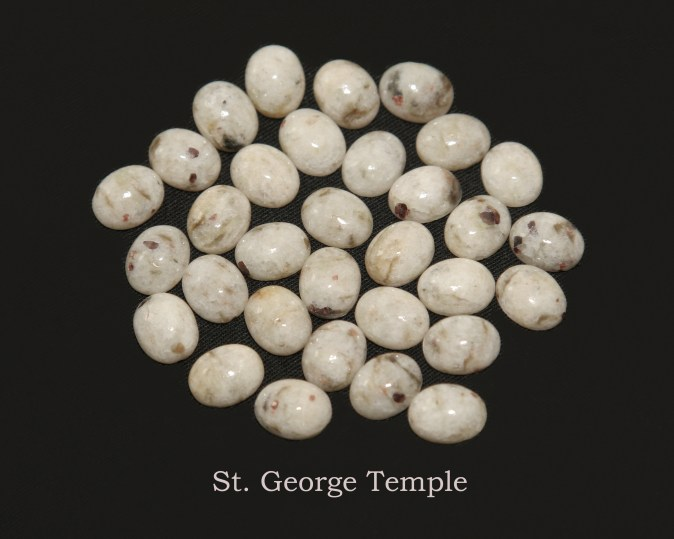 Temple stones from the LDS St. George Temple by Nauvoo Remembered jewelry