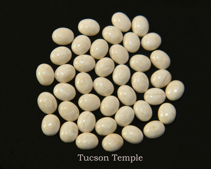 Temple stones from the LDS Tucson Temple by Nauvoo Remembered jewelry
