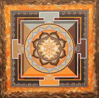 Sri-yantra-maya