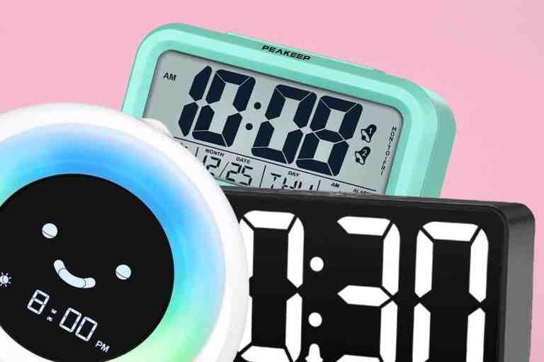 שעון מעורר מומלץ לילדים. השעונים המעוררים הטובים ביותר לילדים