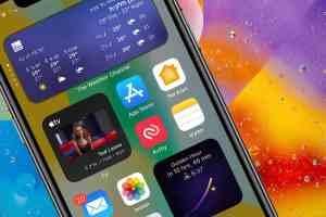 ווידג׳טים לאייפון עם iOS14 ליצור מסך בית מותאם