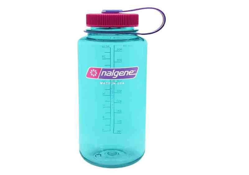 בקבוק מים משתלם עם פתח רחב ועשרות אלפי ביקורות חיוביות באמזון Nalgene Wide Mouth