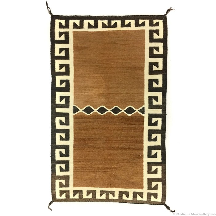 Navajo Double Saddle Blanket c. 1910
