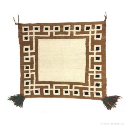 Navajo Single Saddle Blanket 1920