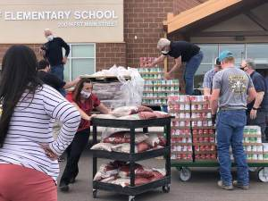Bluff Elementary Food Delivery