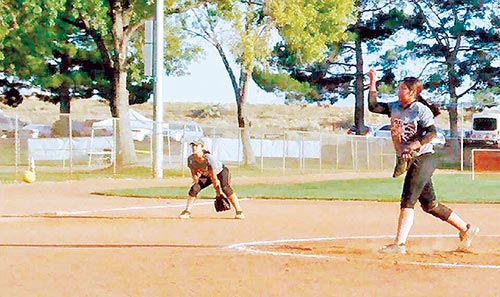 Navajo TImes   Submitted Alexis Lucy Tsosie-Hood competed against the top teams in the ASA 12U Girls Fastpitch Class B Softball during a four-day tournament in Kingman, Arizona. Tsosie-Hood played for the New Mexico Sol, a club team from Albuquerque.