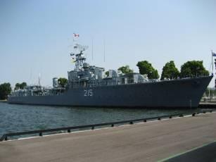 HMCS HAIDA (June 2007).