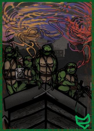 Tonight we dine on turtle soup
