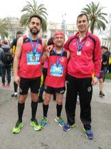 01 C.D. Navalmaratón participó en la eDreams Mitjá Marató de Barcelona