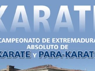 Campeonato de Extremadura Absoluto de Karate y Para-karate en Garrovillas de Alconétar
