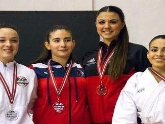 Lydia Curiel Mateos bronce en la 1ª Fase de la Liga RFEK 2017