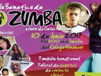 Gala Benefica de Zumba a favor de Carlos Mariscal