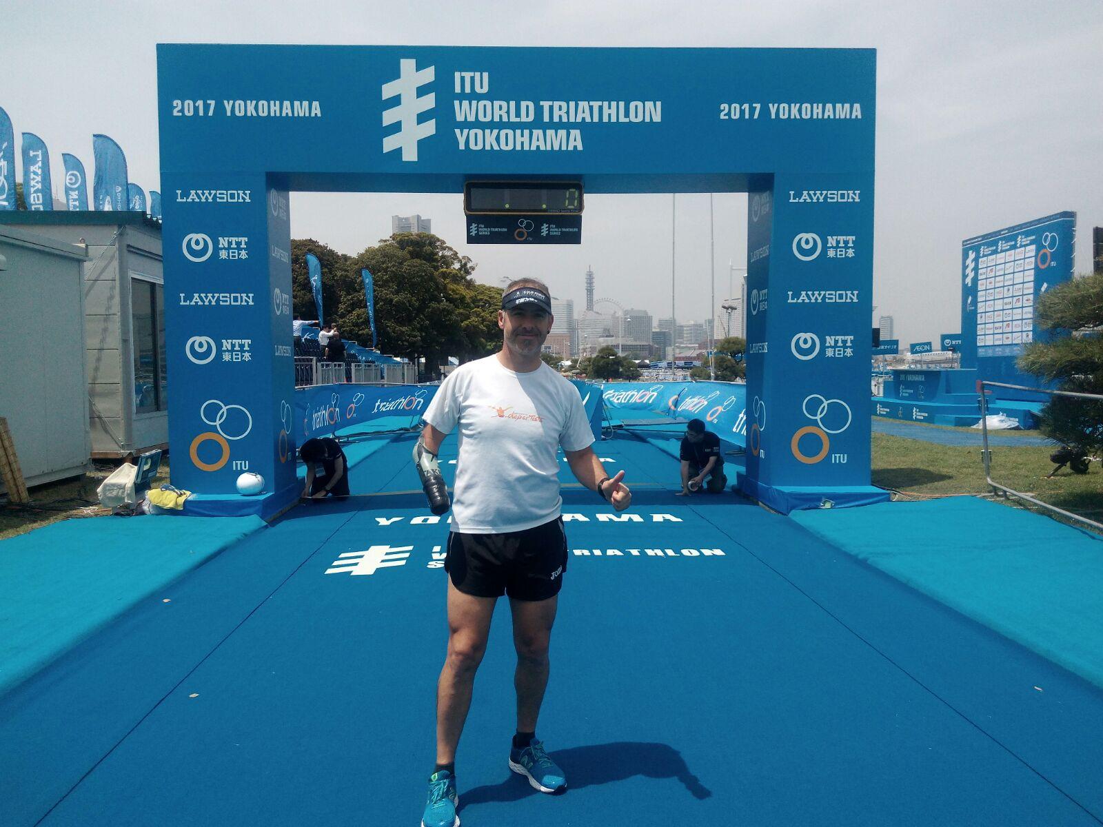 Toni Franco en Yokohama