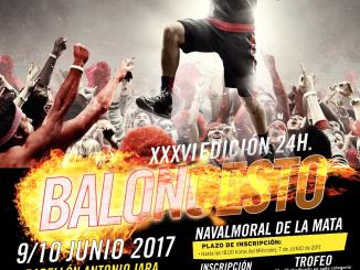 Torneo 24 horas de baloncesto de Navalmoral - Edición XXXVI los días 9 y 10 de junio