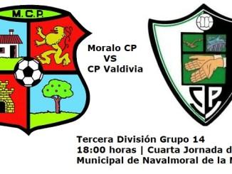 Moralo CP vs CP Valdivia - Cuarta jornada de la Tercera División Grupo 14