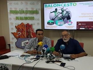 Presentación de la Final de la Copa de Extremadura de Baloncesto 2017